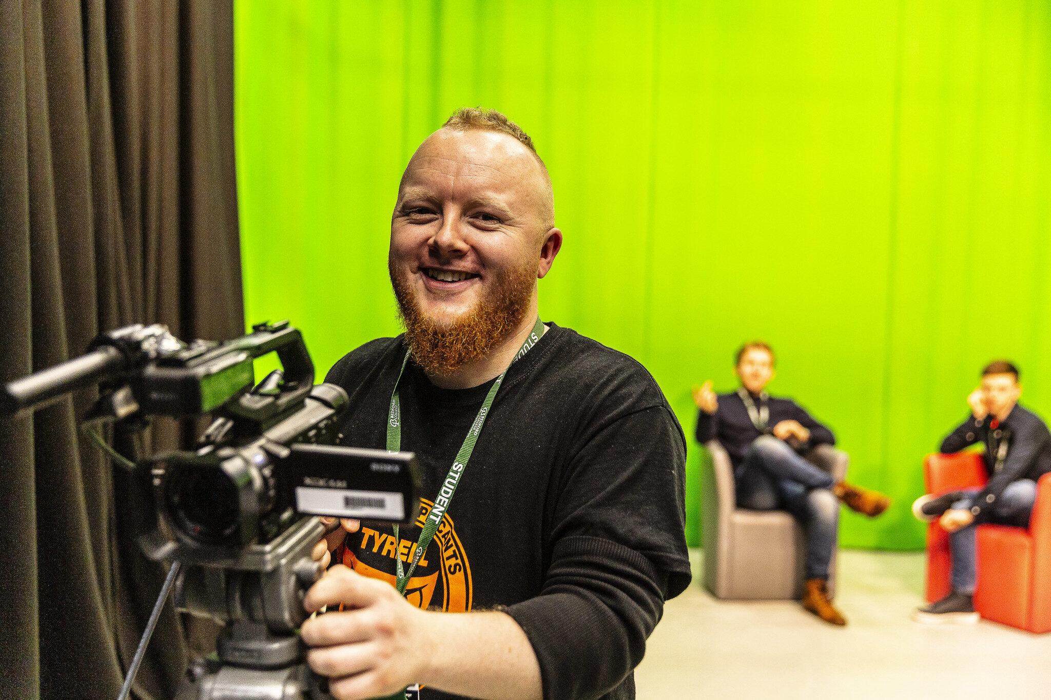 Bedford college Film studio