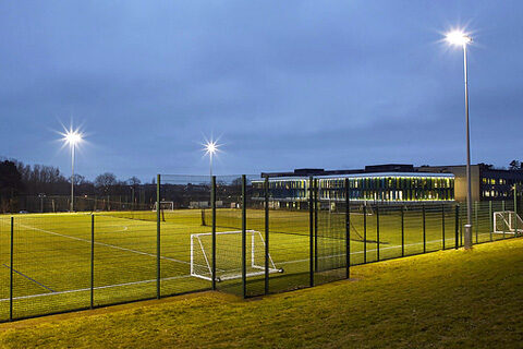 Tresham College Corby Football Pitch