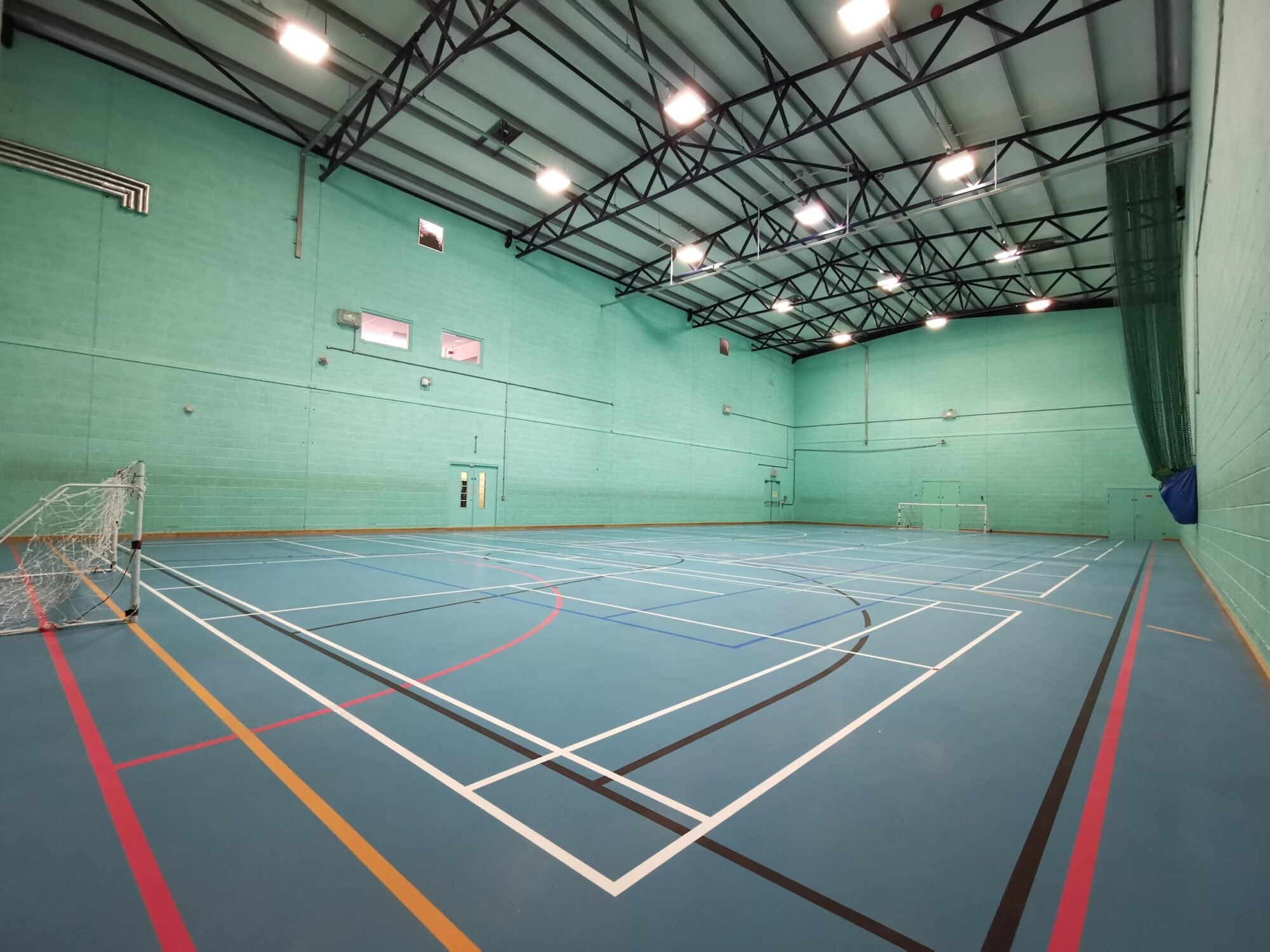 Bedford College Sports Hall